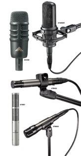 Audio-Technica Mics