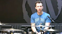 Modern Drummer Mike Johnston