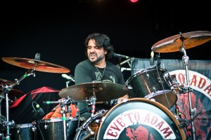 Alex Sassaris of Eve to Adam : Modern Drummer
