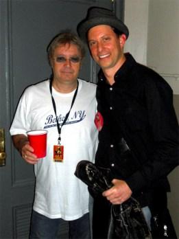 Ian Paice and Dan Glass