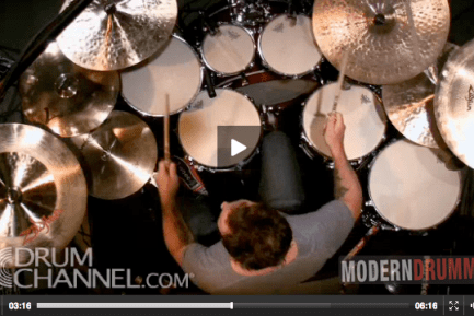 Jimmy Chamberlin on Modern Drummer