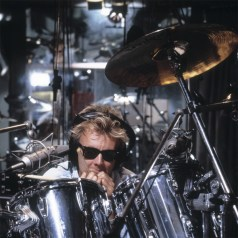 Roger Taylor at the drums