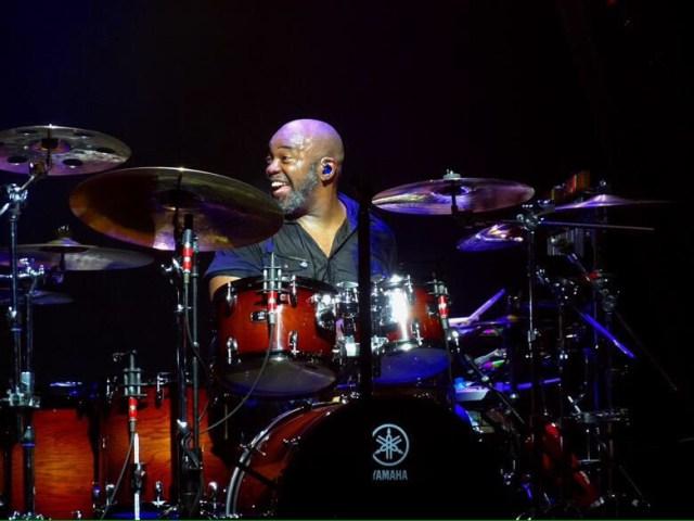 Drummer Abe Fogle of Rob Thomas