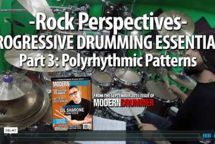 VIDEO LESSON! Progressive Drumming Essentials, Part 3: Polyrhythmic Grooves