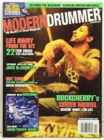 November 2008 issue of Modern Drummer