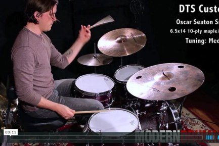 Video Demo! Product Close-Up: DTS 6.5x14 Oscar Seaton Hybrid-Shell Snare