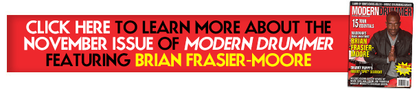 Learn About the November 2015 issue Featuring Brian Frasier-Moore
