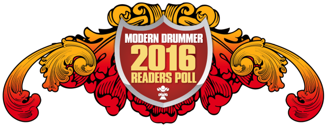 Modern Drummer Readers Poll 2016 Logo