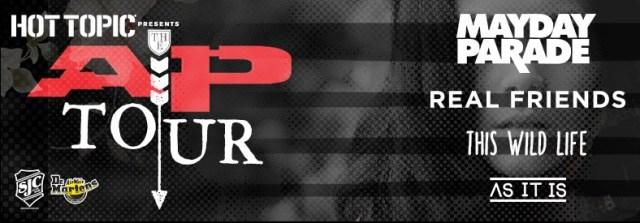 SJC Drums Sponsor's Alternative Press Tour