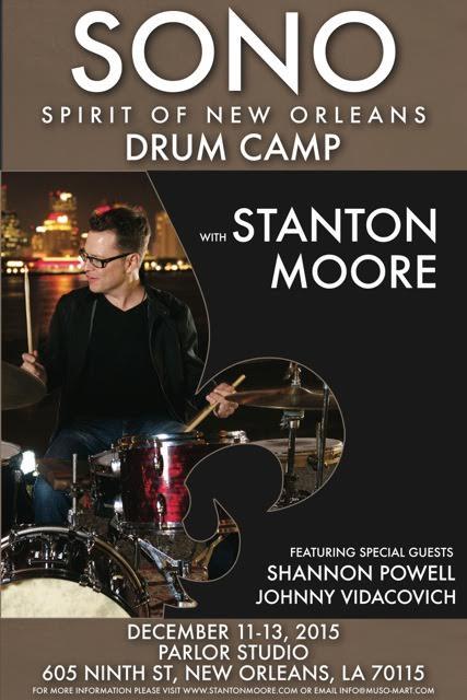 Spirit of New Orleans Drum Camp