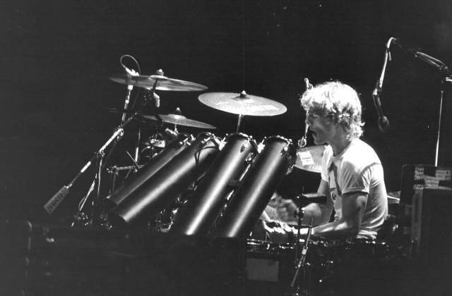 Octobans were a telltale sign of Stewart Copeland's '80s setups with the Police. Stewart was also an early proponent of Paiste's raw, aggressive Rude series cymbals.