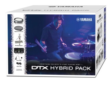 The Yamaha DTX502 Hybrid Pack