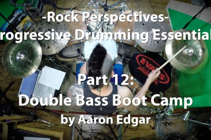 Progressive Drumming Essentials, Part 12