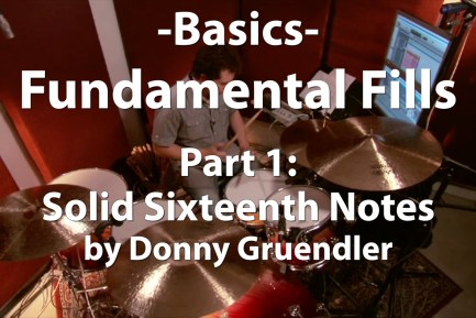 Basics - Fundamental Fills, Part 1