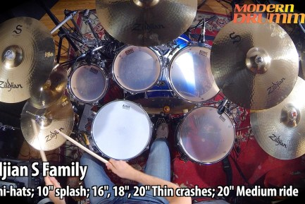 Video Demo! Zildjian - S Family Cymbals