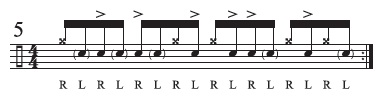 The Stubble-Stroke Roll 5