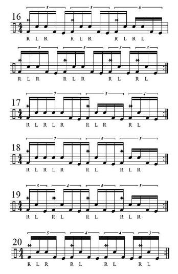 Double Bass Fills 7