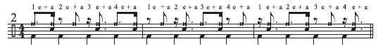 Two-Limb Four-Against-Three Patterns 2