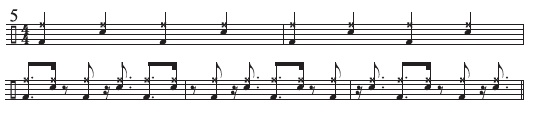Two-Limb Four-Against-Three Patterns 5