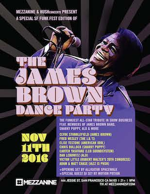 The James Brown Dance Party