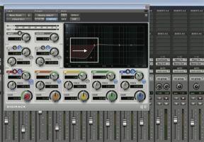 in the studio mixer