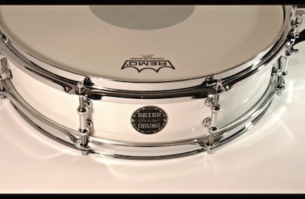 Beier steel snare drum