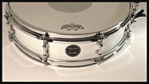 Beier steel snare drum