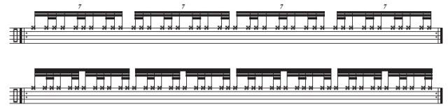 Timetable Warm-Up Modulating Swing Patterns 3