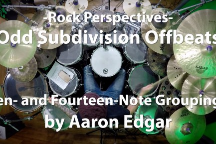 Odd Subdivision Offbeats: Ten- and Fourteen-Note Groupings