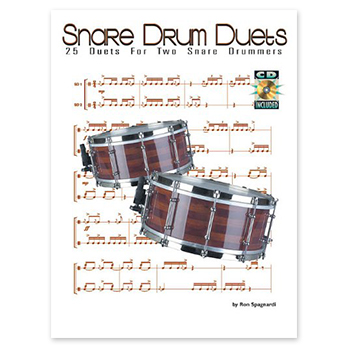 Snare Drum Duets - 25 Duets for Two Snare Drummers (Print Book)