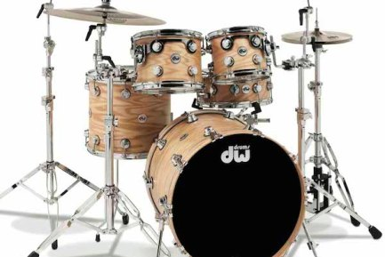 DW Collectors Series Oak Drumset