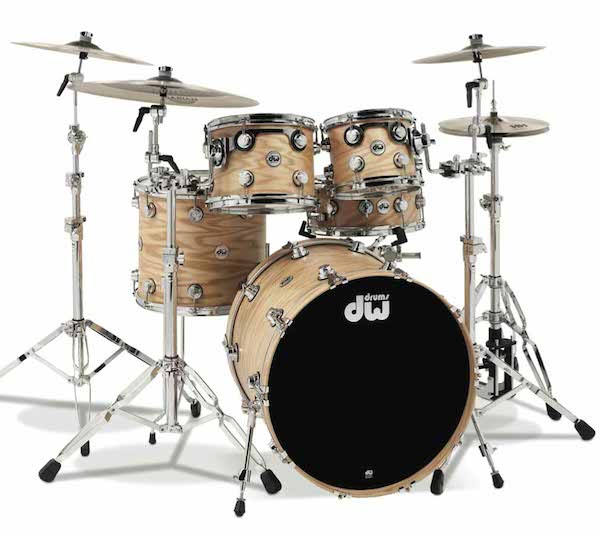 DW Collectors Series Oak Drumset