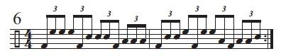Rhythmic Conversions 6