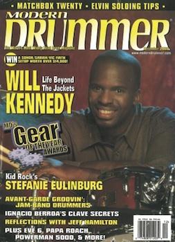 Will Kennedy Modern Drummer cover