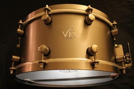 Van Kleef Titanium Snare drum