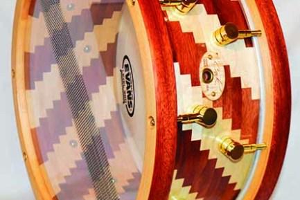 Cask Block snare drum