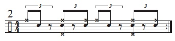 Swinging an Offbeat Figure 2