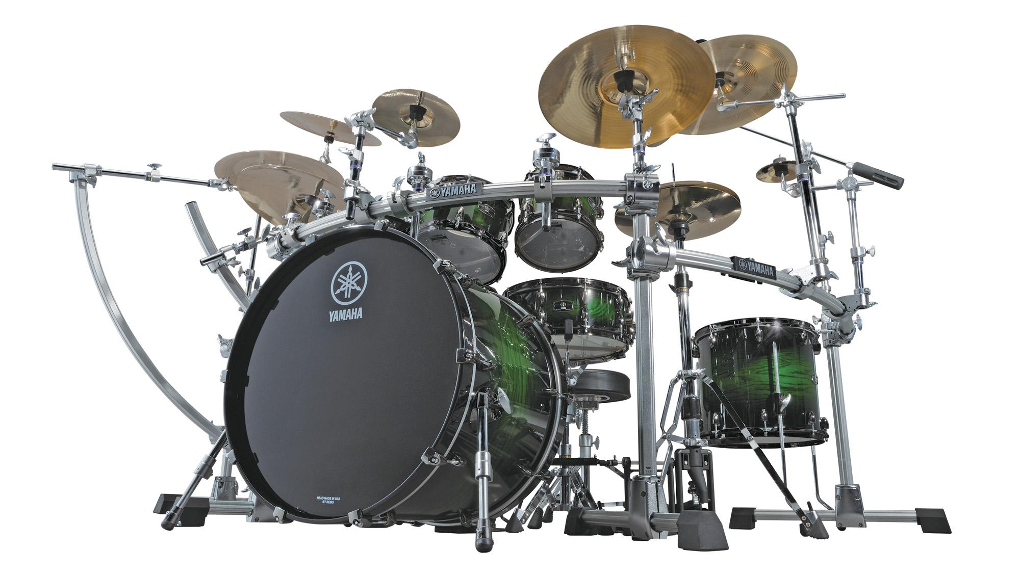 yamaha drums at 50 modern drummer magazine. Black Bedroom Furniture Sets. Home Design Ideas