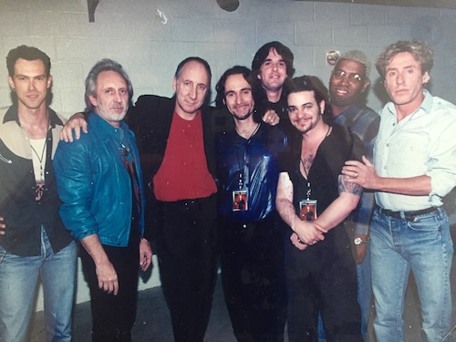 John Mader with The Who