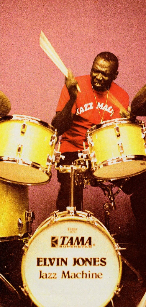 Elvin Jones - Modern Drummer Magazine