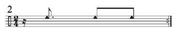 Implied Brazilian Rhythms 2