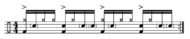 Paradiddles and 16th-Note Subdivisions 3