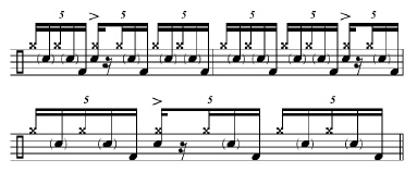 Phrasing Quintuplets 3a
