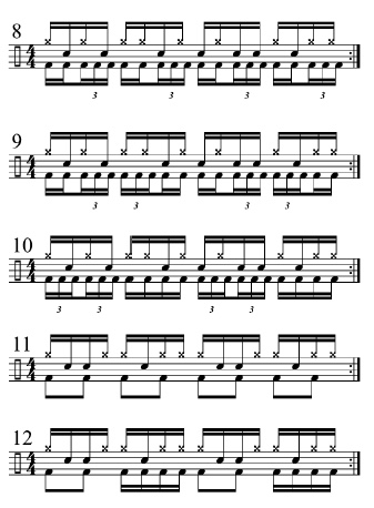 Double Bass Workout 3