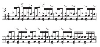 """Beyone """"Funky Drummer"""" 4"""