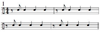 Syncopation Revisited 3/4 Applications 2