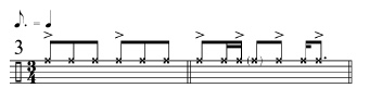 Rhythmic Transition Examples 3