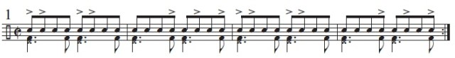 Syncopation Revisited Brazilian Applications 3