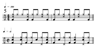 Rhythmic Transition Examples 5