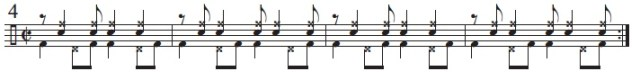 Syncopation Revisited Brazilian Applications 6